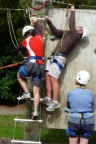 Outward Bound Climbing Wall