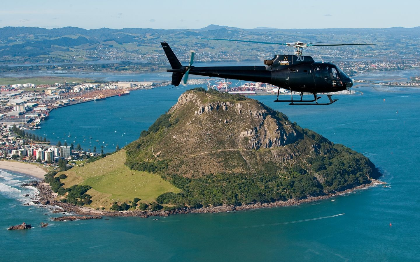 1 mt maunganui flight aerius helicopters 001