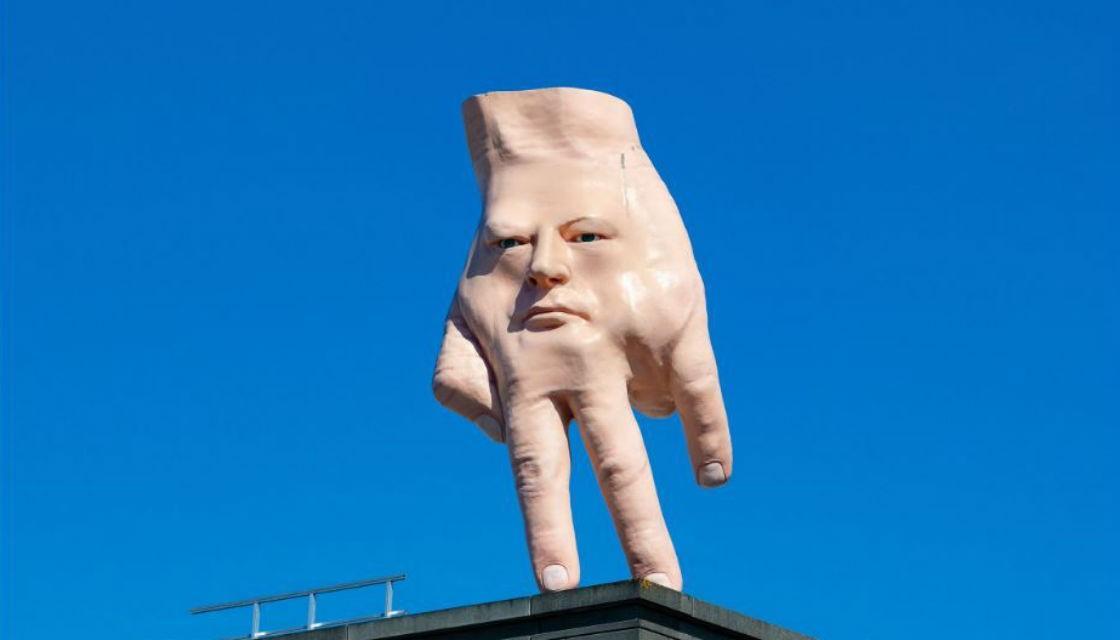 1120 hand sculpture quasi 01120