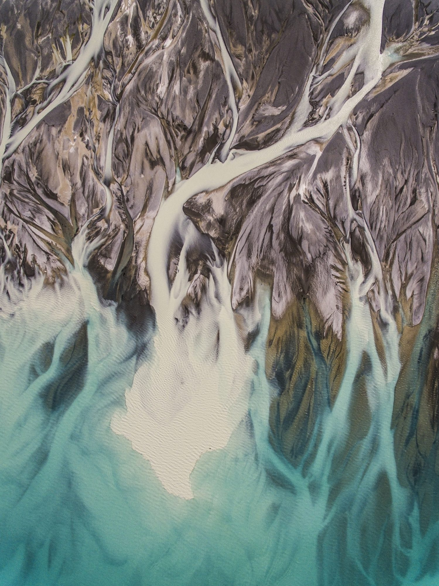 3 Lake Pukaki River Braids 03
