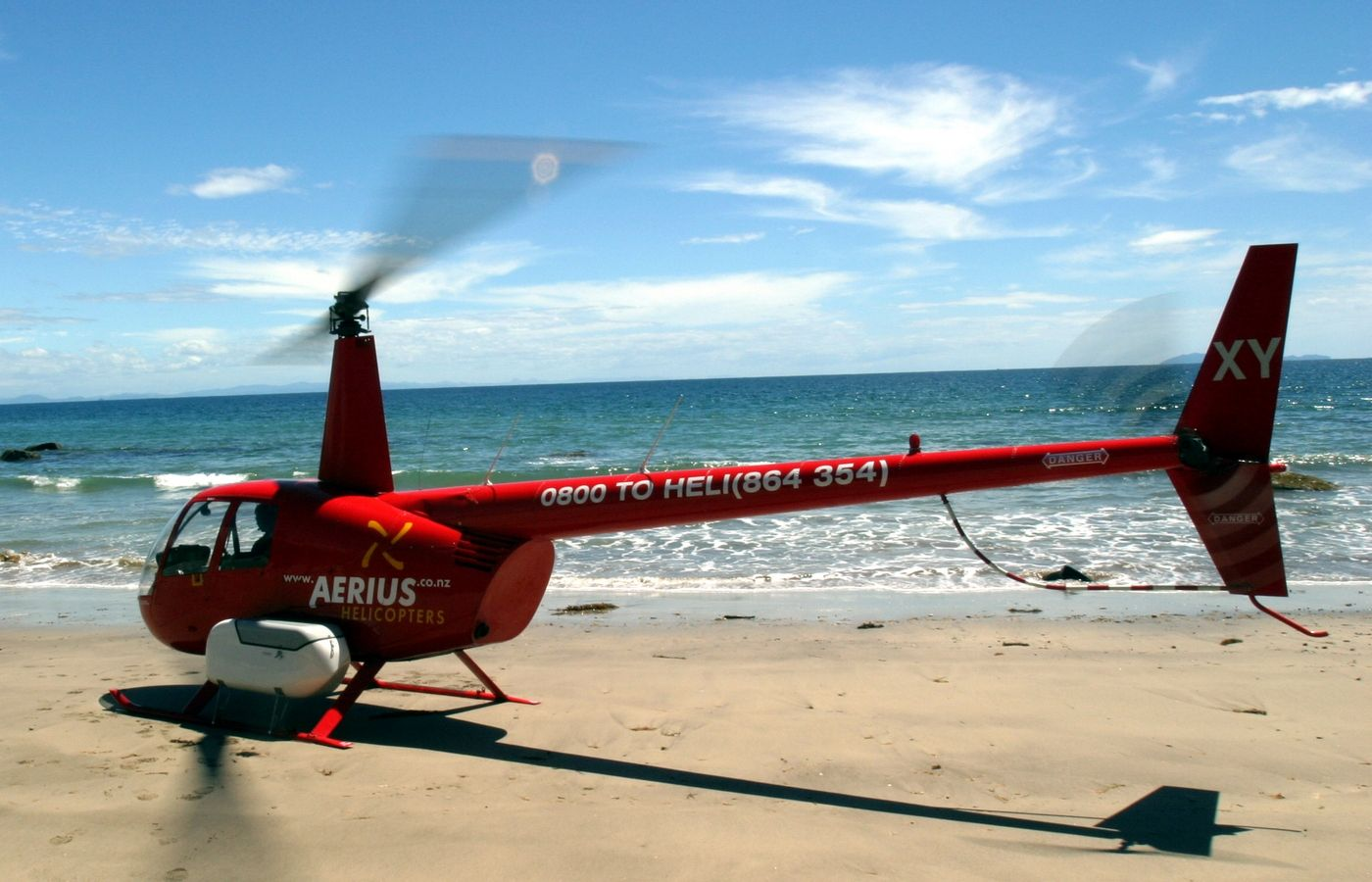 4 beach landing Bay of Plenty aerius helicopters 004