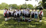 Cambridge & Districts Pipe Band