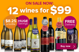 NZ Wine Society 12 Wines for $99