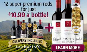 Heard The News? Enjoy 12 Luscious Reds For $10.99 per Bottle