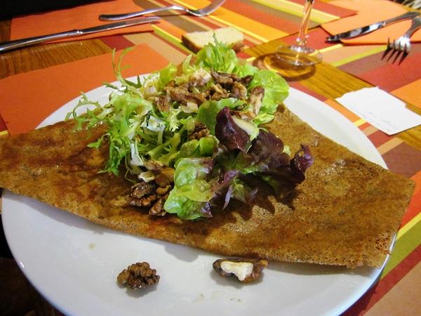 A hearty Breton crepe
