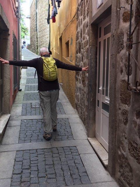 Braga narrow street