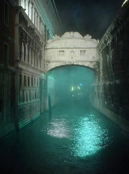 Foggy night at The Bridge of Sighs Venice 9469444375 n