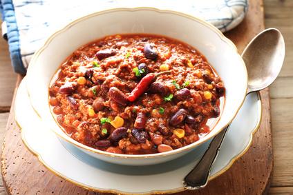 Chili con carne, rustikal