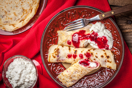 Best pancake recipes in new zealand ever grownups new zealand rolled crepes stuffed with cottage cheese ccuart Image collections