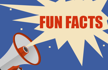 Fun facts. Part 1: Did you know?