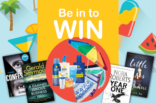Be in to WIN must-read books for Summer