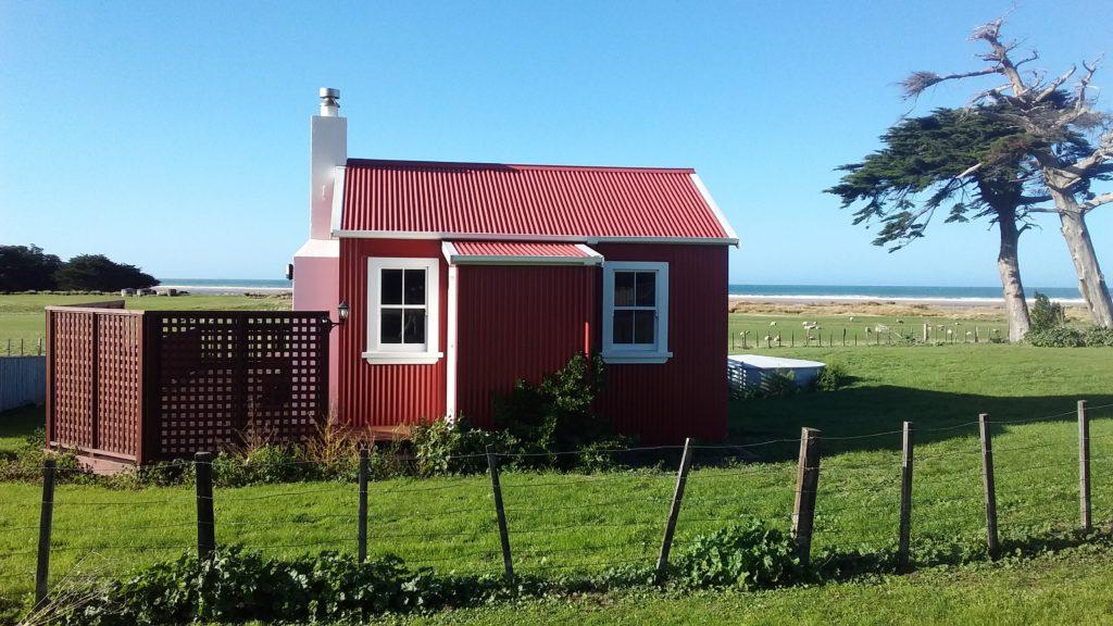 Herbertville rocks some cute cottages.