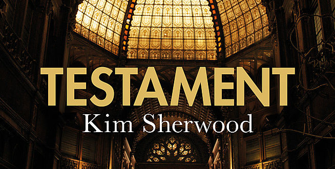 June books Testament Kim Sherwood