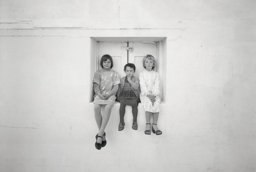 Kamala, Astral and Charlotte, Lyttelton, October 1981