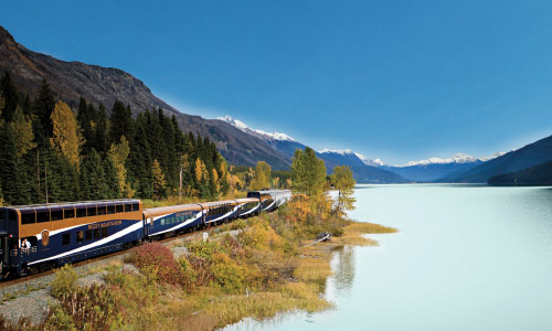 Experience a Rocky Mountaineer rail journey