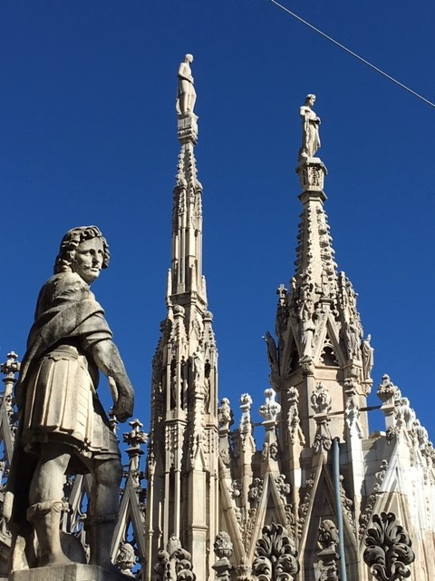 Milan Cathedral rooftop