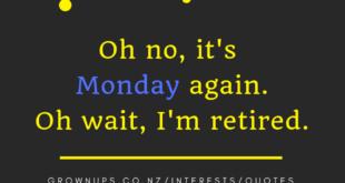 Oh no its Monday