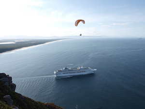 Paragliding at Tauranga Entrance and Mount Maunganui