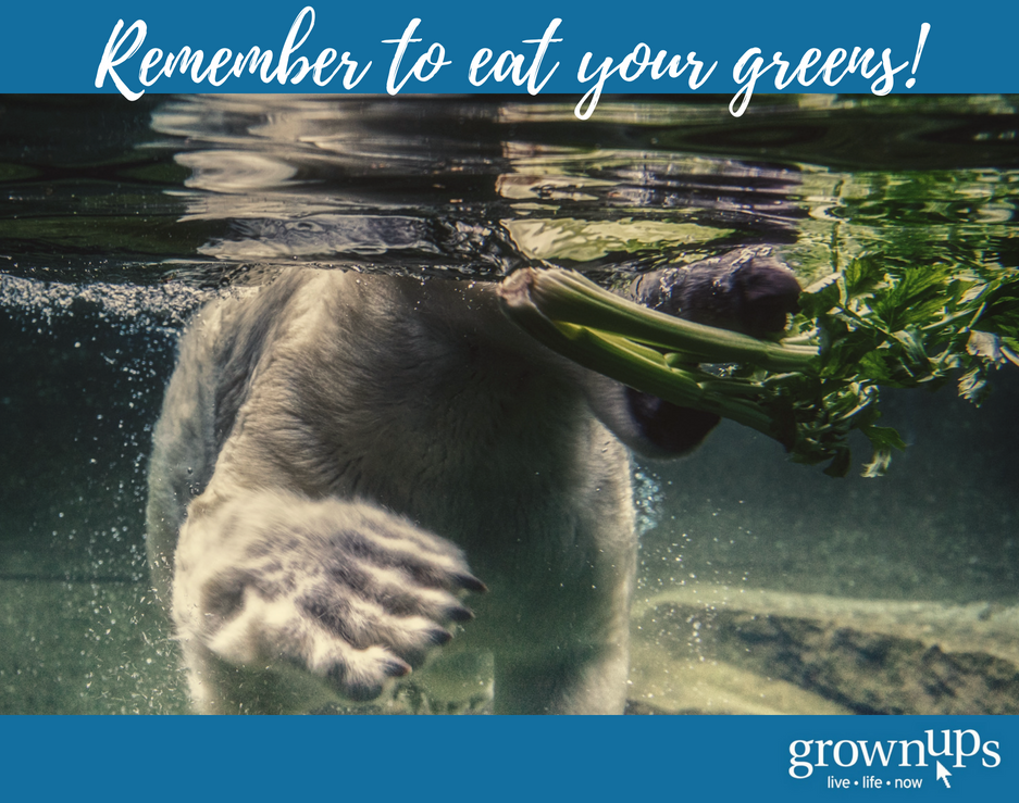 Remember to eat your greens
