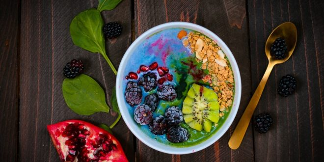 Blue and Green Smoothie - recipe