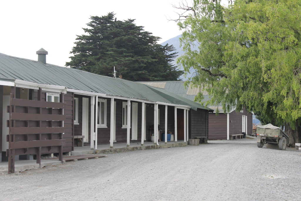 Spend the night in the comfortable shearers quarters.
