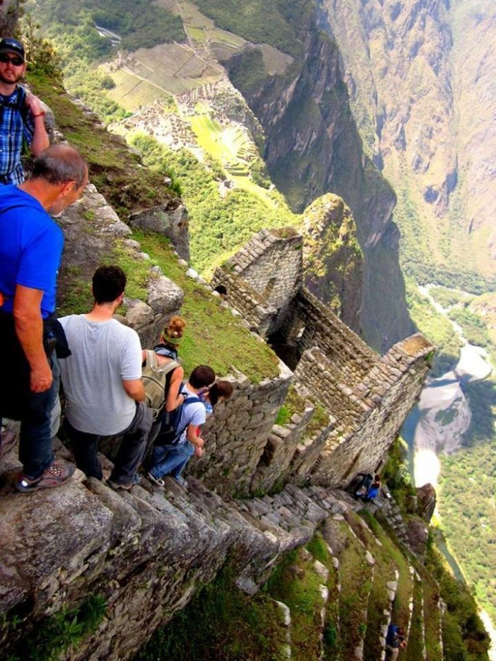 Stairs at Machu Picchu Peru 5097583685 n