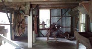 The upper story of the restored Kawana Flour Mill