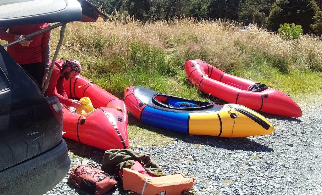 Tough and light packrafts are the Kiwi way to go