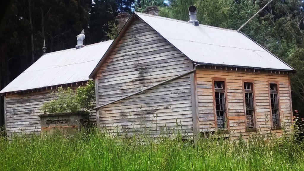 Woodside Glens historic old school.