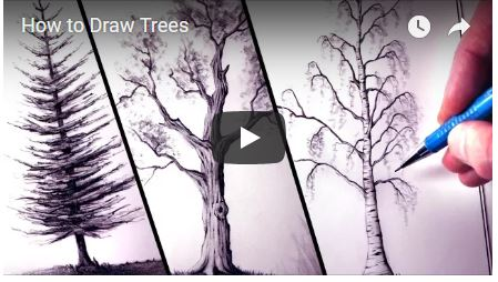 YouTube How to draw trees