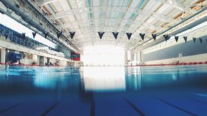 swimming pool aqua jogging