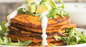 breakfast sweet potato pancakes