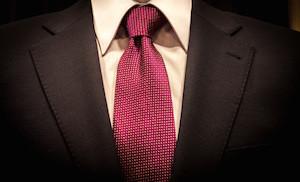 Businessman in elegant suit, business meeting