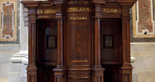 Confessional in Vatican