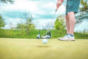 golfing for health