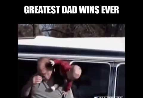 dad wins