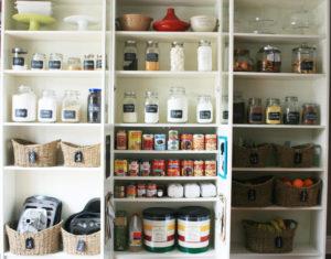 pantry, jar, tidy
