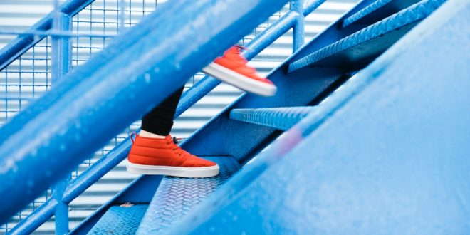 stair climb - exercise winter