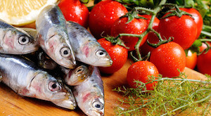 composition of sardines with various ingredients