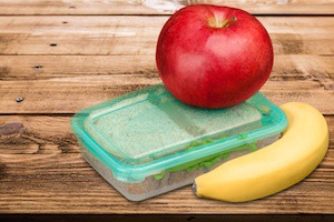 Lunch Box, Lunch, Packed Lunch.