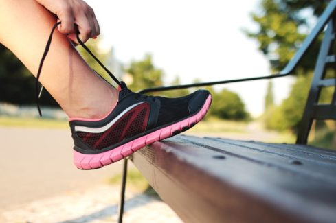 Running, shoes