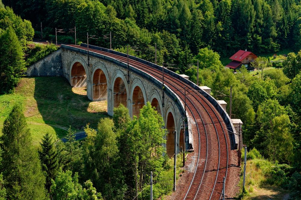 Old Fashion Train Rides In Austria