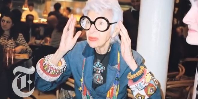spotlight on iris apfel fashion