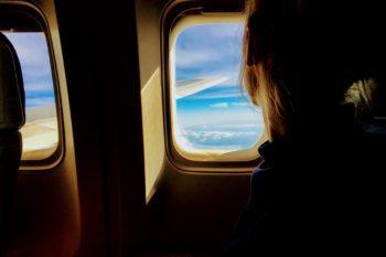 flying, plane