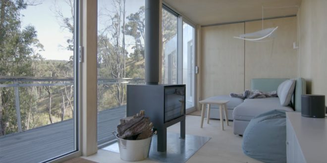 video container house