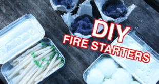 Video: DIY fire starters