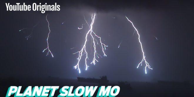 video lightning in slow motion