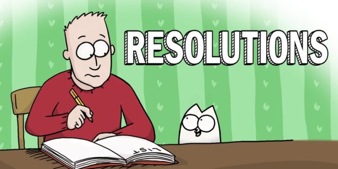 video new years resolutions