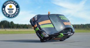 Video – The Fastest Wheelie in a Car