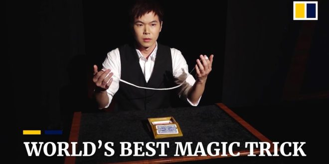 video the worlds best magic tric
